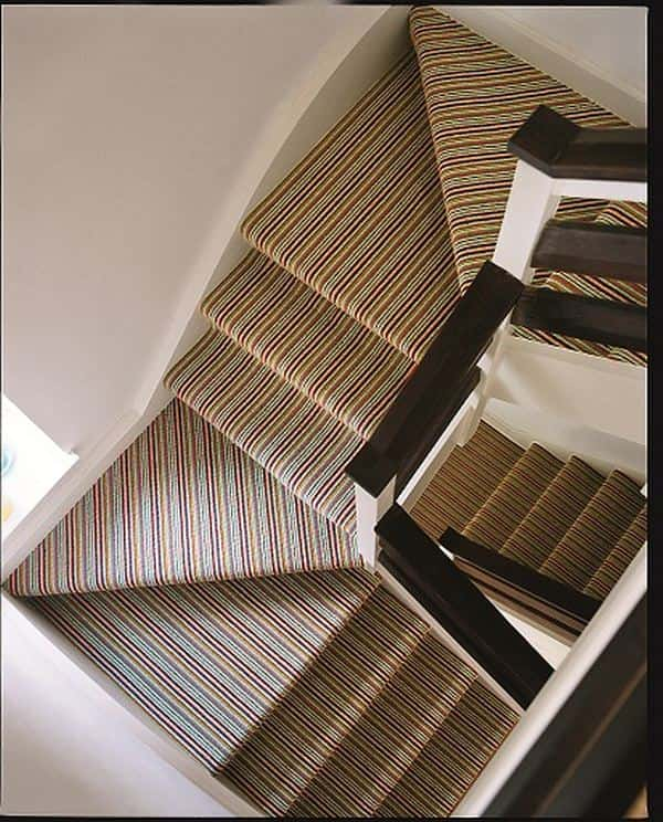 Replacing Carpet With A Stair Runner: Fit Your Carpet To Your Stairway Not Your Stairway To Your
